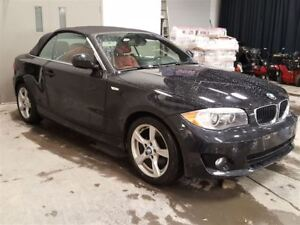 2013 BMW 1 Series 128i CONVERTIBLE CUIR ROUGE MAGS