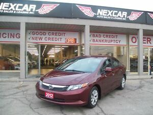 2012 Honda Civic LX AUT0 A/C CRUISE ONLY 46K