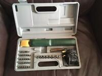 Electric Screwdriver boxed set £15!