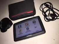 Tomtom XXL satnav with accessories and carry case - good working order - fully updatable
