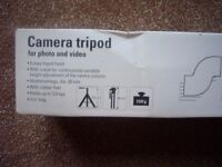 Camera tripod Garage Sale 8 Cremers Drift Sheringham NR26 8HX This Saturday 28th Oct.