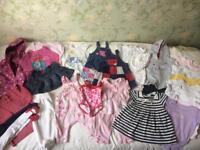 Next girls' clothes baby bundle 3-6mths