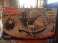 Fisher Price Battery Operated Baby Cradle