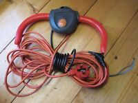 Flymo Lawnmower Switch Box Control Start , handles and cable assembly