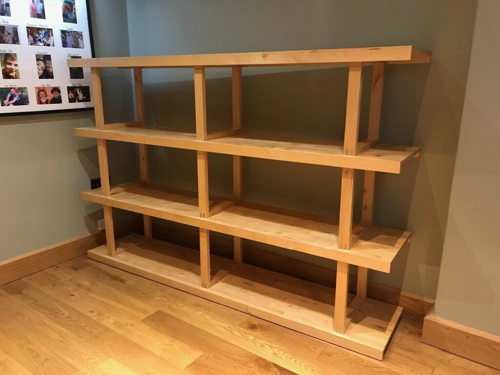 Ikea Norrebo Shelving Real Ash Wood In Droitwich