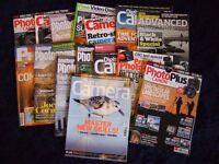 15 Camera Magazines Various Months 2016 Canon Nikon Sony