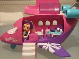 Shopkins aeroplane