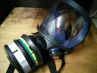 Breathing masks,apparatus. Suitable for spray painting.