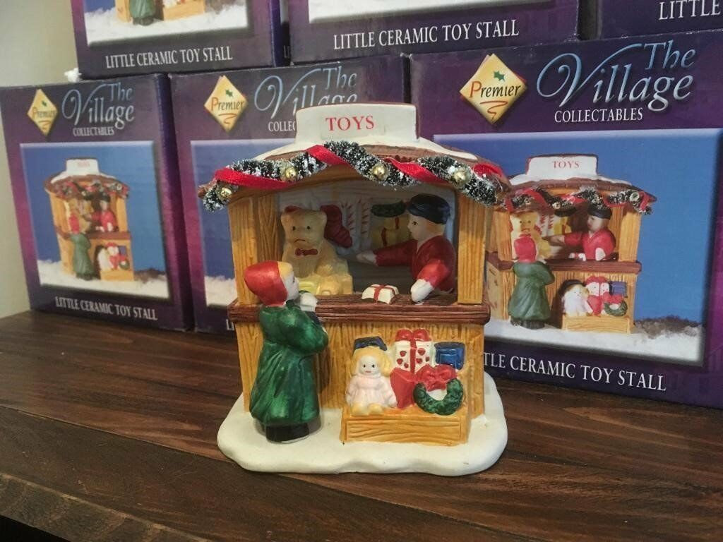 Christmas Toy Stall Ornaments x 24