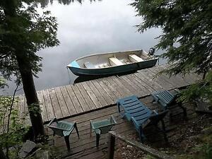 Relax on Buck Lake, September and October
