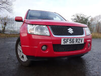 07 SUZUKI GRAND VITARA 1.6 4X4,MOT OCT 018,2 OWNERS FROM NEW,PART HISTORY,TOTALLY UNMARKED 4X4