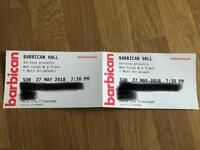 Ben Folds, Barbican London, 27th May