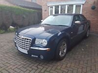 CHRYSLER 300C DIESEL 2006 BUCKINGHAM BLUE, AUTOMATIC & POWERSHIFT WITH SERVICE HISTORY. LOW MILES
