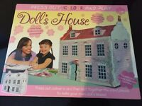 Doll's House (Press Out, Colour and Play) BNIB