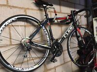 Road bike. Aluminium and carbon.