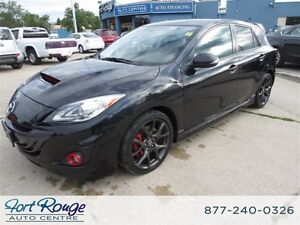 2013 Mazda Mazdaspeed3 LTHR/NAV/LOW KMS