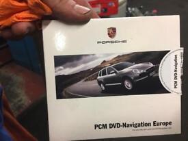 Porsche sat nav disc