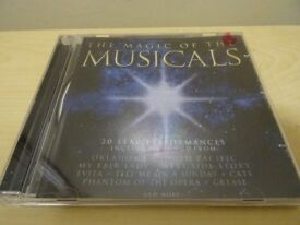 MAGIC OF THE MUSICALS CD