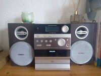 Phillips Stereo Hi-Fi System (Music)