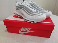 Nike Air Max 97 White / Reflect Silver - Size 10
