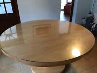 Oak Dining Table - 6 Seater