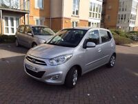 HYUNDAI i10 2012 62 REG 5DR HIGH SPEC CAT D ONLY 14,000 MILES PERFECT RUN AROUND EXCELLENT CONDITION