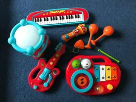 Toddler music set