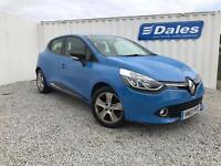 Renault Clio Dynamique Nav 1.2 16v Petrol (blue) 2013