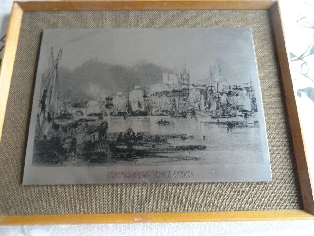 Engraving Newcastle upon Tyne