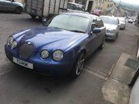Jaguar SType 2004 October mot 23,03,19-2.7 diesel twin turbo very fast ,swap or sale