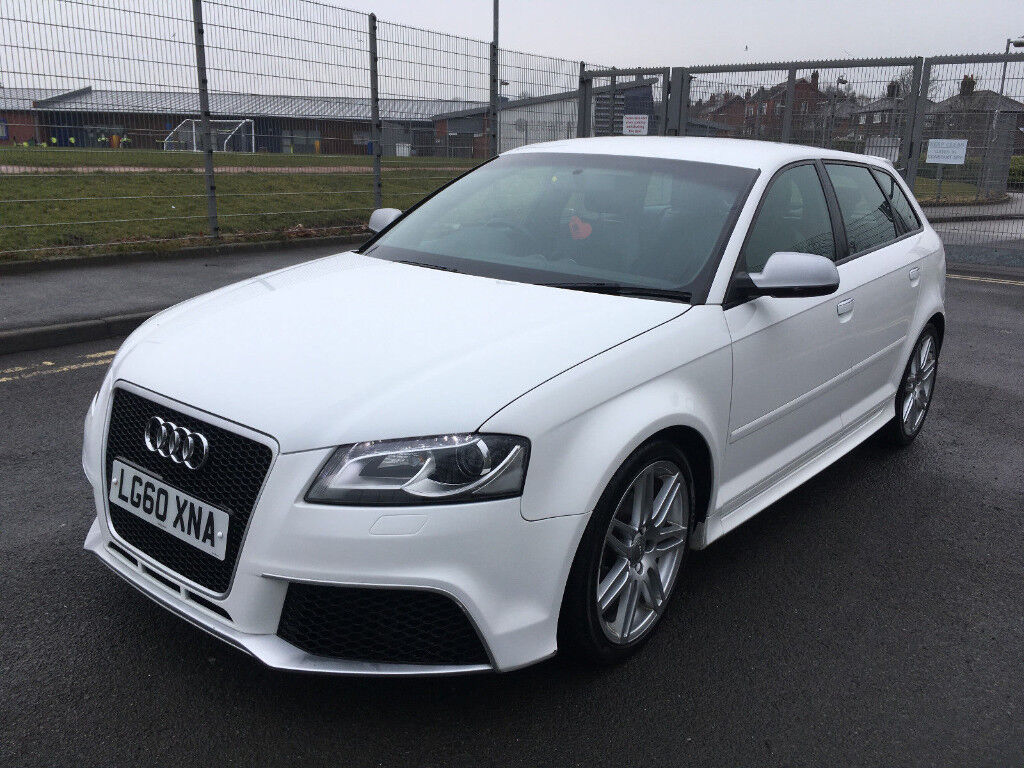 2010 60 audi a3 sline 2 0 tdi 140 sportback rs3 s3 replica. Black Bedroom Furniture Sets. Home Design Ideas