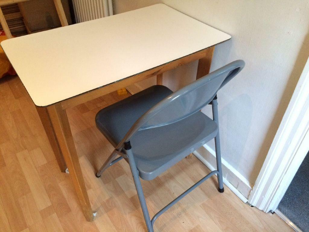 Mid century retro white formica breakfast table in  : 86 from www.gumtree.com size 1024 x 768 jpeg 75kB