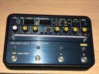 Korg SDD-3000 Digital Delay Guitar Bass Synth Effects Pedal