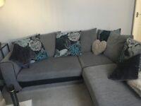 Grey Corner Scs Sofa