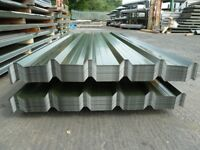 Box profile roof sheets galv steel