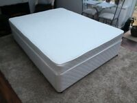 Kingsize Divan Bed Used less than 6 times as a guest bed. In nearly New Condition, can deliver