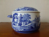 Spode Italian Imperial Cookware Stone China Oven to Table Casserole with lid