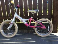 Girls Claude Butler Bike suits age4/5yrs