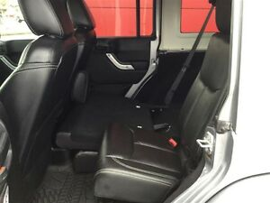 2014 Jeep Wrangler Unlimited Sahara 4X4, Leather, Local, NEW Tir Comox / Courtenay / Cumberland Comox Valley Area image 7
