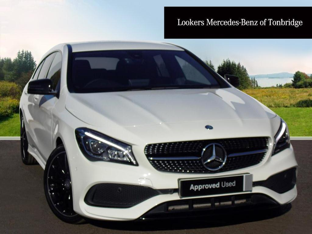 mercedes benz cla cla 220 d 4matic amg line white 2016. Black Bedroom Furniture Sets. Home Design Ideas