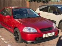 Honda civic coupe 1998 EJ8 with D16y8 vtec