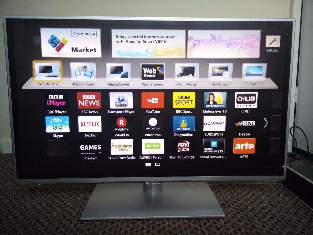 panasonic viera tx l32e6b 32 1080p hd ips led smart internet tv television in bamber bridge. Black Bedroom Furniture Sets. Home Design Ideas