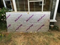 3 x 150mm thick Ecotherm insulation boards
