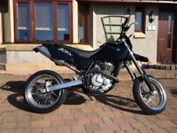 CCM super moto, dual sport 650cc. 2002. Private plate.