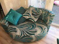 dfs daze sofa and cuddler
