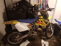 *** Suzuki rm125cc 60 plate on road swap px car van ****