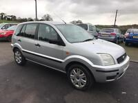 Ford Fusion 1.4 5 DOOR HATCHBACK (silver) 2003