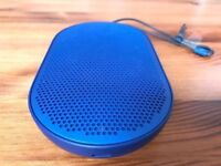 Bang & Olufsen Beoplay P2 portable bluetooth speaker blue, fully boxed, rrp £150