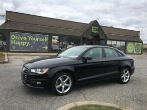 2016 Audi A3 Komfort / QUATTRO / LEATHER / SUNROOF