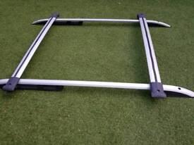 Fait doblo roof rail, wind deflectors and parcel shelf